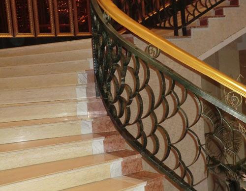 欧式铁艺楼梯